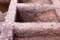 Bardown excavations August 1970: photo H. Cleere