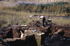 General view of the excavation: photo A. Chatwin