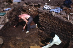 Excavating the exterior: photo A. Chatwin