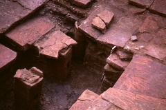 Hypocaust: photo A. Chatwin