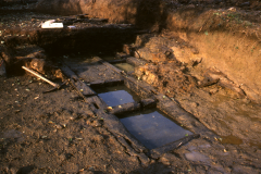 North wheelpit during excavation: photo Chris Place