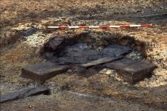 Anvil base during excavation: photo Chris Place