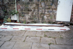 The boring bar prior to conservation at The Pheasantry: photo F. Tebbutt