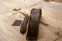 Chingley Furnace water wheel: photo W. Beswick