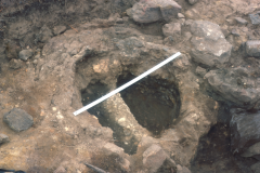 Furnace 2 during excavation: photo F. Tebbutt
