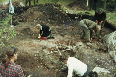 Excavating at Cow Park: photo anon