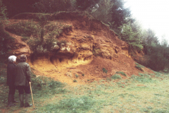 A small quarry near Rainvillers, SW of Beauvais.