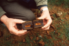 An example of iron ore near Rainvillers