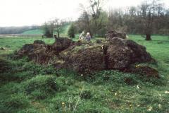 Heap of 'bears' at Les Forges du Vaumain, near Boutencourt.