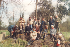 The Group members at Les Forges du Vaumain