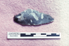 Neolithic/Bronze Age transverse arrow head: photo A. Meades