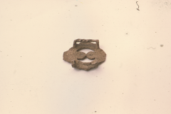 First century AD Bronze strap join: photo A. Meades