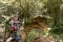 General view of excavation of Furnace 2: photo J. Hodgkinson