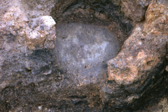 Holbeanwood, Hol/B/11, smelting furnace 1: photo H. Cleere