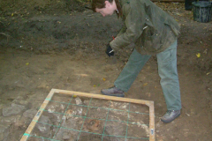 Little Furnace Wood, Oct 2003, excavation: photo J. Hodgkinson