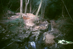 General view of site looiking east 1989: photo R. Barnes