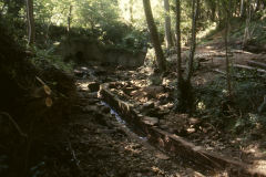 View of site looking west 1989: photo R. Barnes