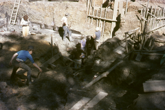 General view of excavation: photo W. Beswick