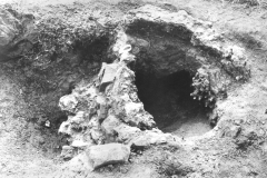 Pippingford bloomery, re-excavated 1979: photo B. Herbert