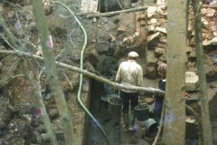 General view of the excavation: photo D. Meades