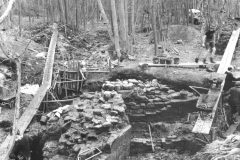 View of excavation: photo B. Herbert