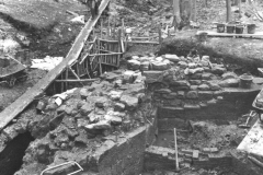 View of excavation: photo B. Herbert