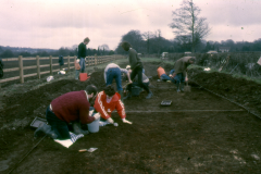 Roffey excavation: photo J. Hodgkinson