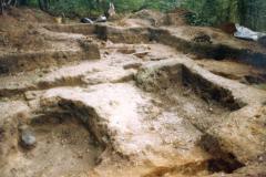 General view of excavation: photo J. Hodgkinson