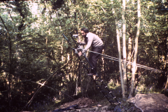 Jeremy Hodgkinson photographing the excavation: photo A. Weaver