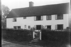 Warren Furnace, Worth, former workers' cottages c.1919: photo L. Robinson